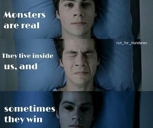 monster, teen wolf, and win image