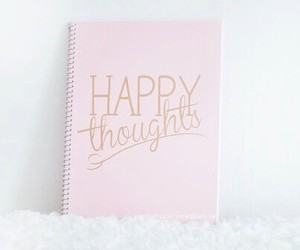 pink, happy, and book image