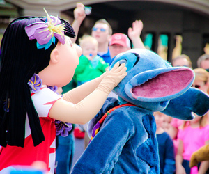 disney world, lilo, and mickey mouse image