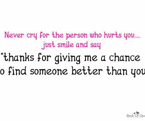 heartbreak, pink, and qoute image