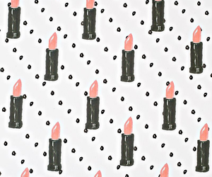 wallpaper, lipstick, and pink image
