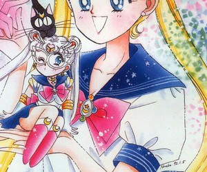 anime, sailor moon, and セーラームーン image