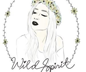 daisy, girl, and wild spirit image