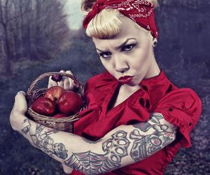 tattoo and apple image