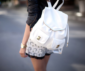 backpack, classy, and gold image