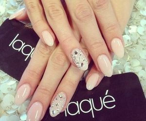 nails, manicure, and style image