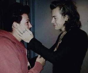 larry, Harry Styles, and manips image