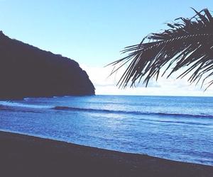 beach, blue, and pretty image