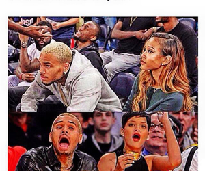 Basketball, chris brown, and rihanna image
