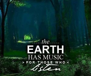 earth, music, and listen image