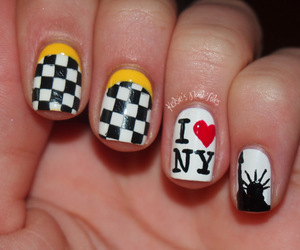 nail art, nails, and nail design image