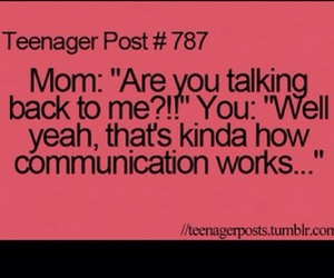 funny, communication, and teenager post image