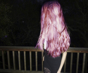 grunge, hair, and pink image