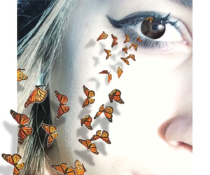 3d, butterflies, and cool image