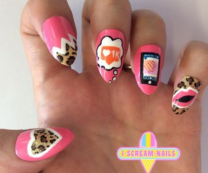 nails, nail art, and nail design image