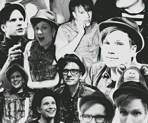 Collage, cute, and fall out boy image