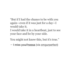 miss you, quote, and sad image