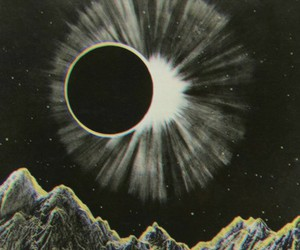 moon, sun, and eclipse image