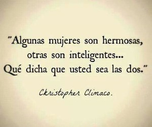 frases, hermosa, and mujeres image
