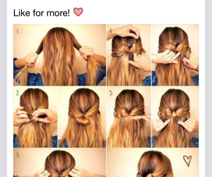 diy, hairstyles, and pretty image