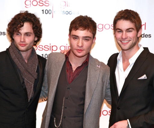 Chace Crawford, chuck bass, and dan humphrey image