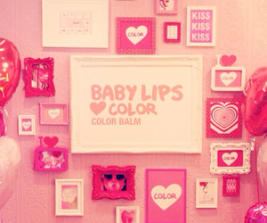 baby, lips, and pink image