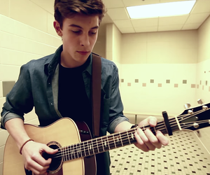boy, guitare, and mendes image
