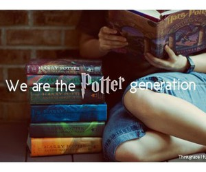 harry potter, book, and generation image