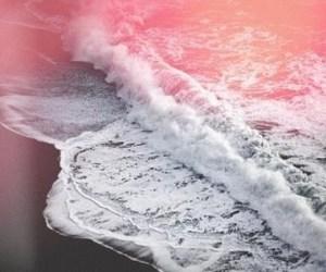 beach, beautiful, and gray image