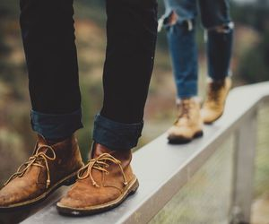 couple, photography, and shoes image