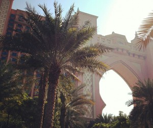 summer, Dubai, and sun image