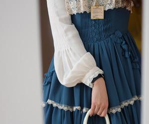 bag, classic lolita, and victorian image