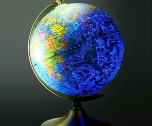 awesome, globe, and countries by day image