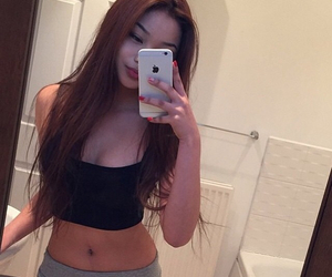 asian girls, site model, and body image
