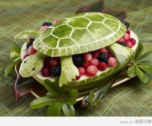 awesome, FRUiTS, and turtle image