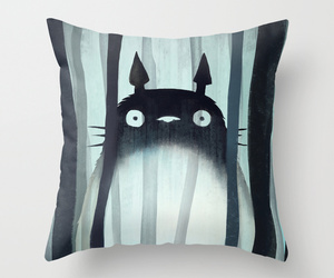 animation, bed, and throw pillow image