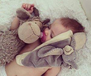 baby, sleep, and kids image