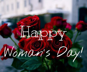 bouquet, red, and woman's day image