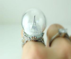 eiffel tower and ring image