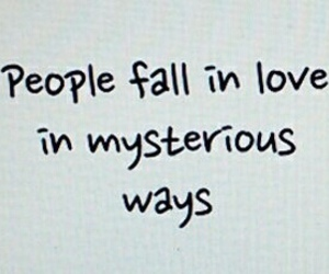 mysterious, love, and quotes image