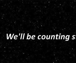 one republic, counting stars, and we'll be counting stars image