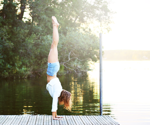 acrobatic, summer, and acro image