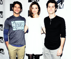 tyler posey, teen wolf, and crystal reed image