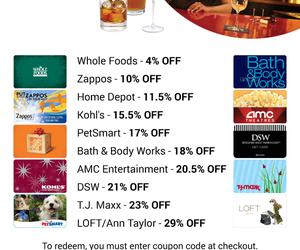 sell gift cards, discount gift card, and gift card exchange image