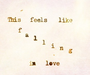 love, quotes, and falling image