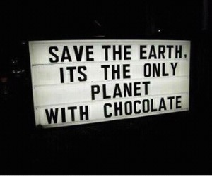 chocolate, planet, and true image