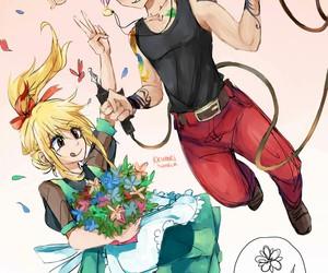 fairy tail, nalu, and natsu dragneel image