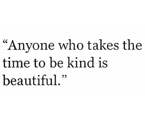 quote, beautiful, and kind image