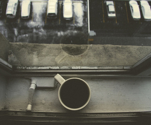coffee, window, and vintage image
