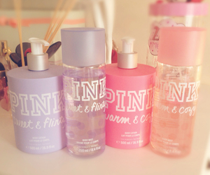body spray, girly, and lotion image